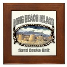 Sand Castle... Framed Tile