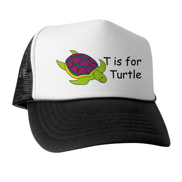T Is For Turtle Hat By Srfboystore
