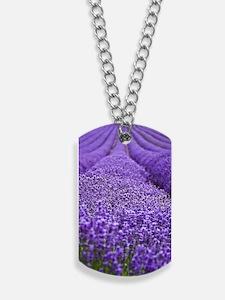 Lavender Dog Tags