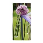 Lavender flower ball Beach Towel