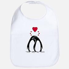Loving Penguins Bib