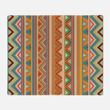 Mix #75, Tribal Throw Blanket