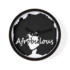 Afrobulous Wall Clock