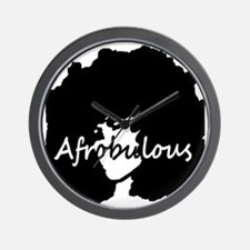 Afrobulous Wall Clock