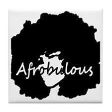 Afrobulous Tile Coaster