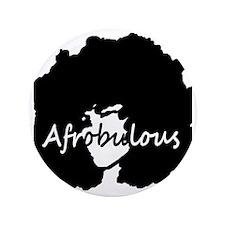 """Afrobulous 3.5"""" Button"""