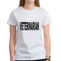 Veterinarian (Front) Women's T-Shirt