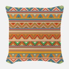 Mix #75 - Tribal Woven Throw Pillow