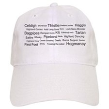 Scottish associations Baseball Cap