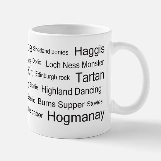 Scottish associations Mug