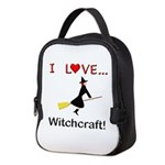 I Love Witchcraft Neoprene Lunch Bag