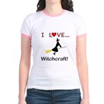 I Love Witchcraft Jr. Ringer T-Shirt