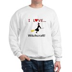 I Love Witchcraft Sweatshirt