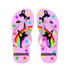 Figure Skater Flip Flops