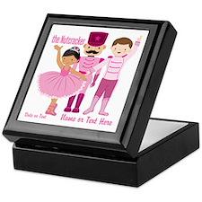 Personalize Pink Nutcracker Keepsake Box