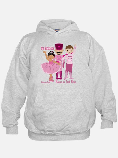 Personalize Pink Nutcracker Hoody