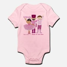 Personalize Pink Nutcracker Infant Bodysuit