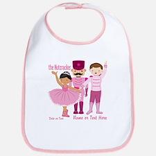 Personalize Pink Nutcracker Bib