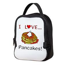 I Love Pancakes Neoprene Lunch Bag