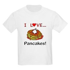 I Love Pancakes T-Shirt
