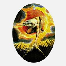 The Ancient of Days, William Blake p Oval Ornament