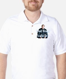 What Would Scalia Do Golf Shirt