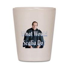 What Would Scalia Do Shot Glass