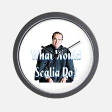 What Would Scalia Do Wall Clock
