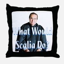 What Would Scalia Do Throw Pillow