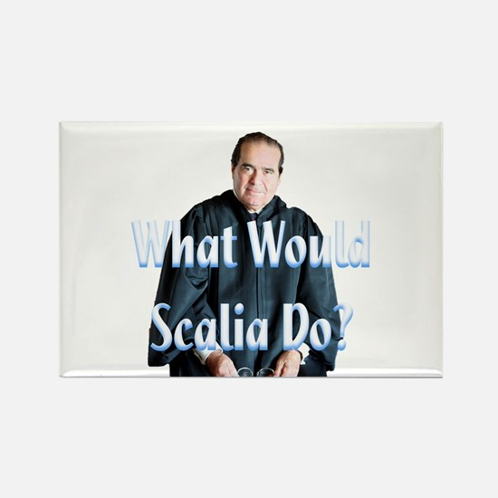 What Would Scalia Do Rectangle Magnet