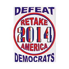 VOTE FOR AMERICA Twin Duvet