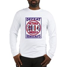 VOTE FOR AMERICA Long Sleeve T-Shirt
