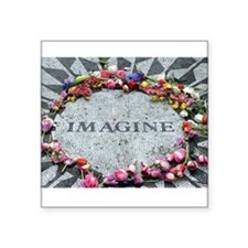 Imagine Rectangle Sticker