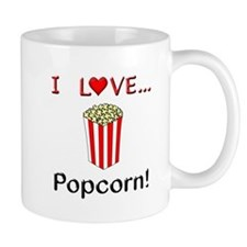 I Love Popcorn Mug