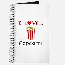 I Love Popcorn Journal
