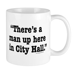 There's A Man Mug
