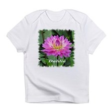 Purple Yellow Dahlia Infant T-Shirt