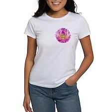 Purple Yellow Dahlia T-Shirt