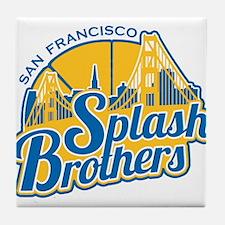 Splash Brothers Tile Coaster