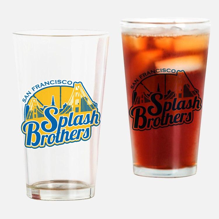 Splash Brothers Drinking Glass
