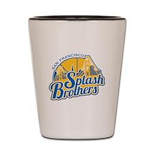 Splash Brothers Shot Glass