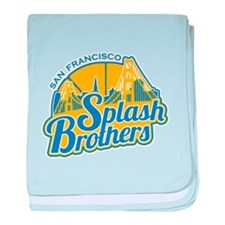 Splash Brothers baby blanket