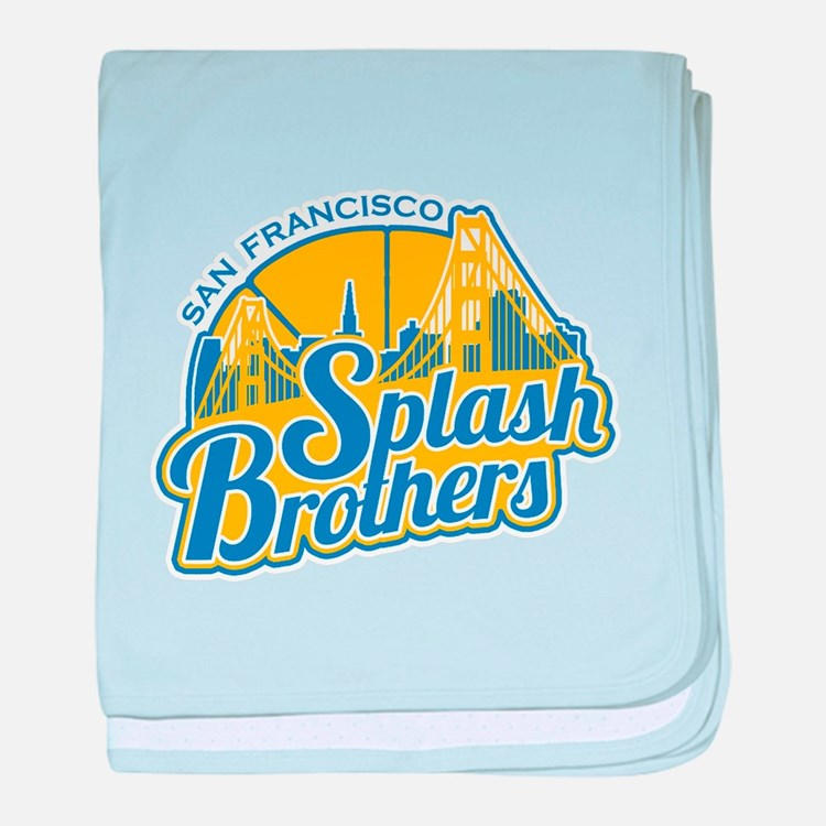 Splash Brothers baby blanket