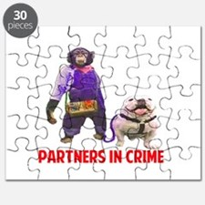 Monkey and Dog: Partners In Crime Puzzle