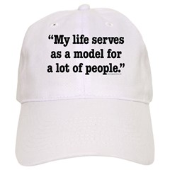 MY Life Serves as a Model Baseball Cap