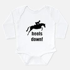 heels down jumper horse.jpg Long Sleeve Infant Bod