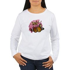 Tiger Butterfly Women's Long Sleeve T-Shirt