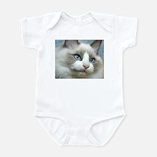 Funny Cat art Infant Bodysuit