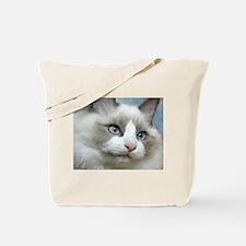 Unique Cat art Tote Bag