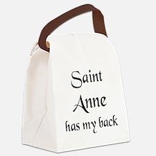 saint anne Canvas Lunch Bag